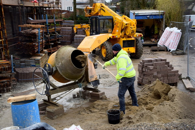 Need-A-Tool 101: How Does a Concrete Mixer Work?